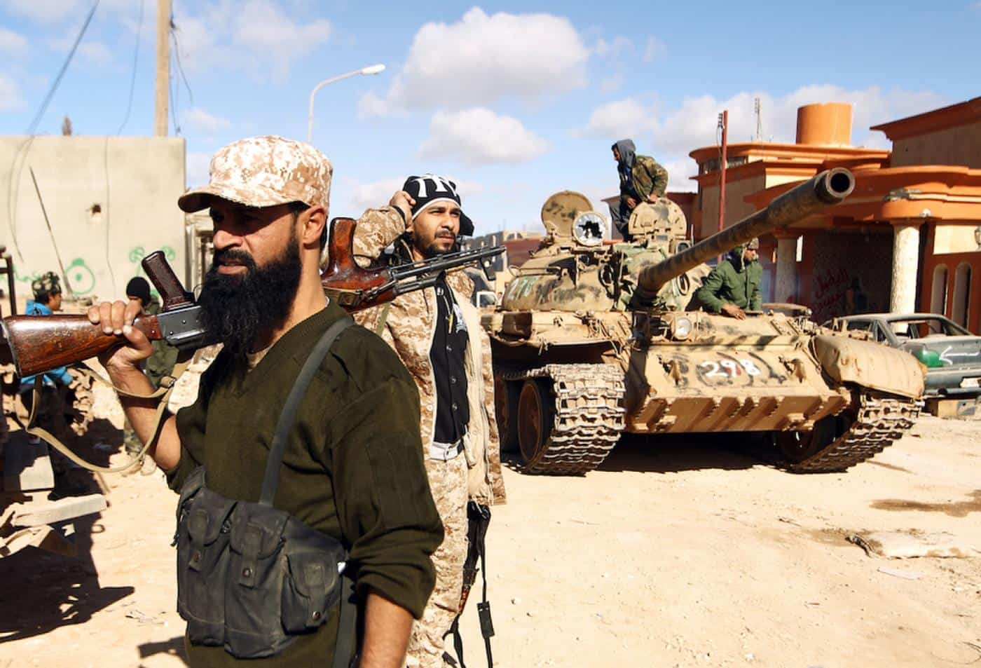 Guns for Hire: Mercenary Warfare in Libya