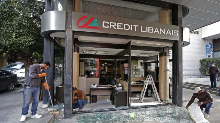 Lebanon in 'Turbulent Seas' as Eurobond Default Looms