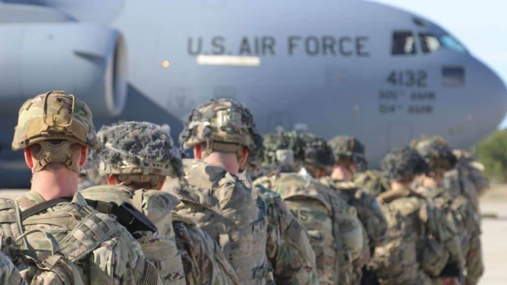Troops Withdraw from Camp Taji, Iraq Amid Fears of New Threat
