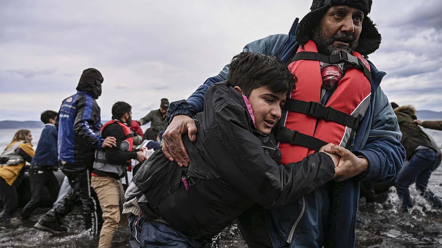 Five EU countries agree to take most vulnerable children from Greek migrant camps