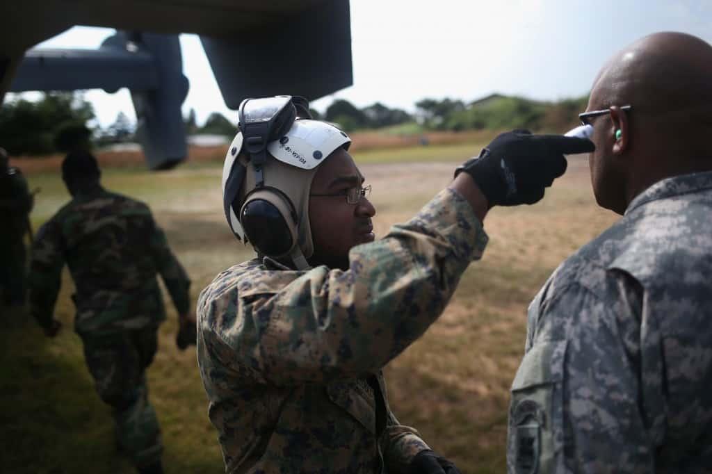 Returning US Military Personnel Face Difficult Quarantine Conditions