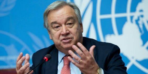 UN Secretary General Calls for Temporary 'Peace on Earth'