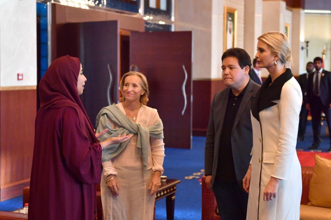 Ivanka Trump Commends Handful of MENA Nations for Women's Empowerment Initiatives