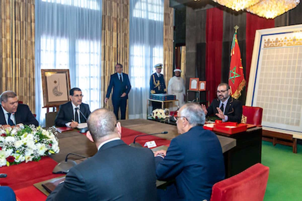 King Mohammed VI chairing session to address Coronavirus