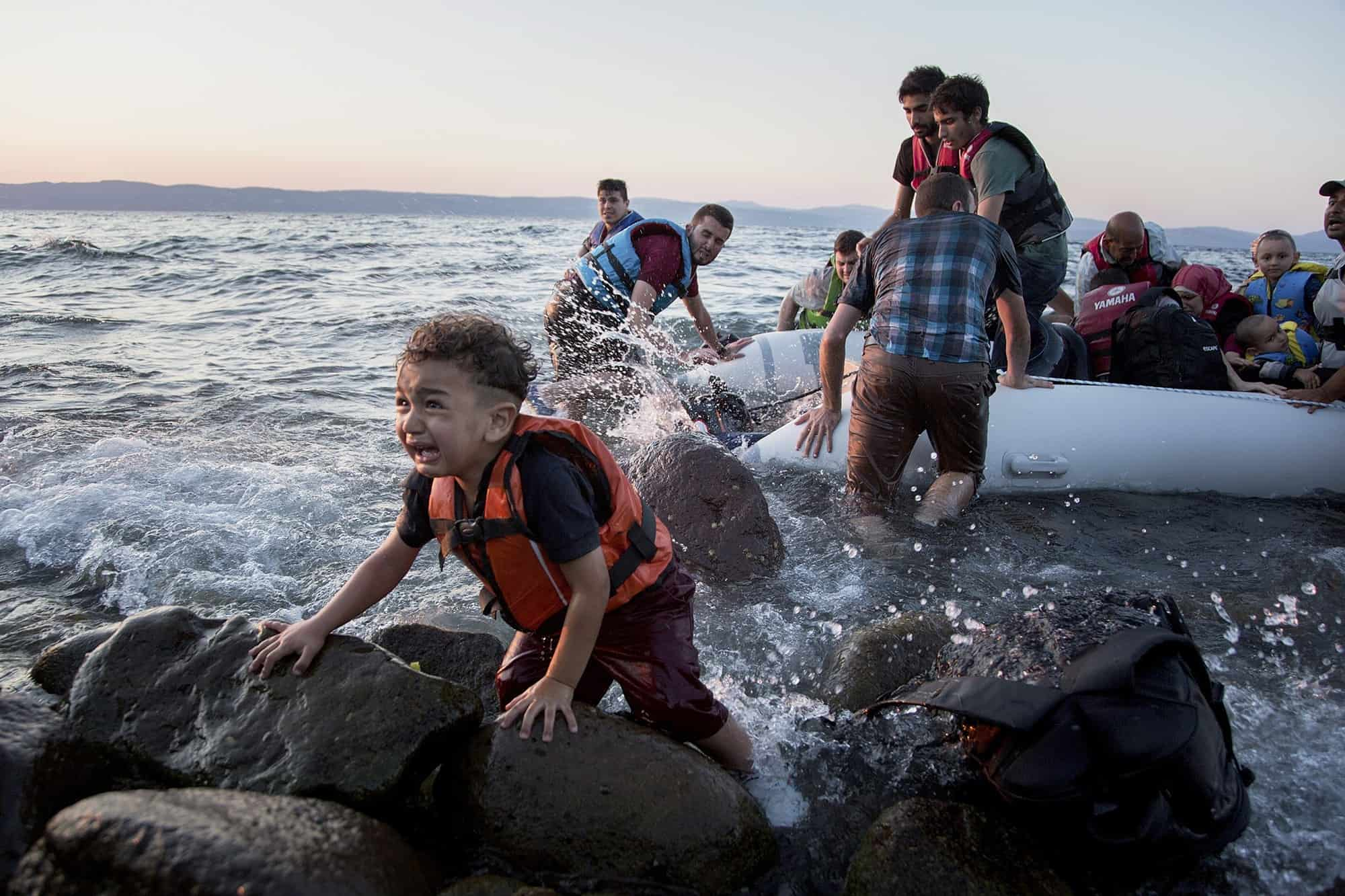 Syrian Refugees in Danger on Greek Island of Lesbos