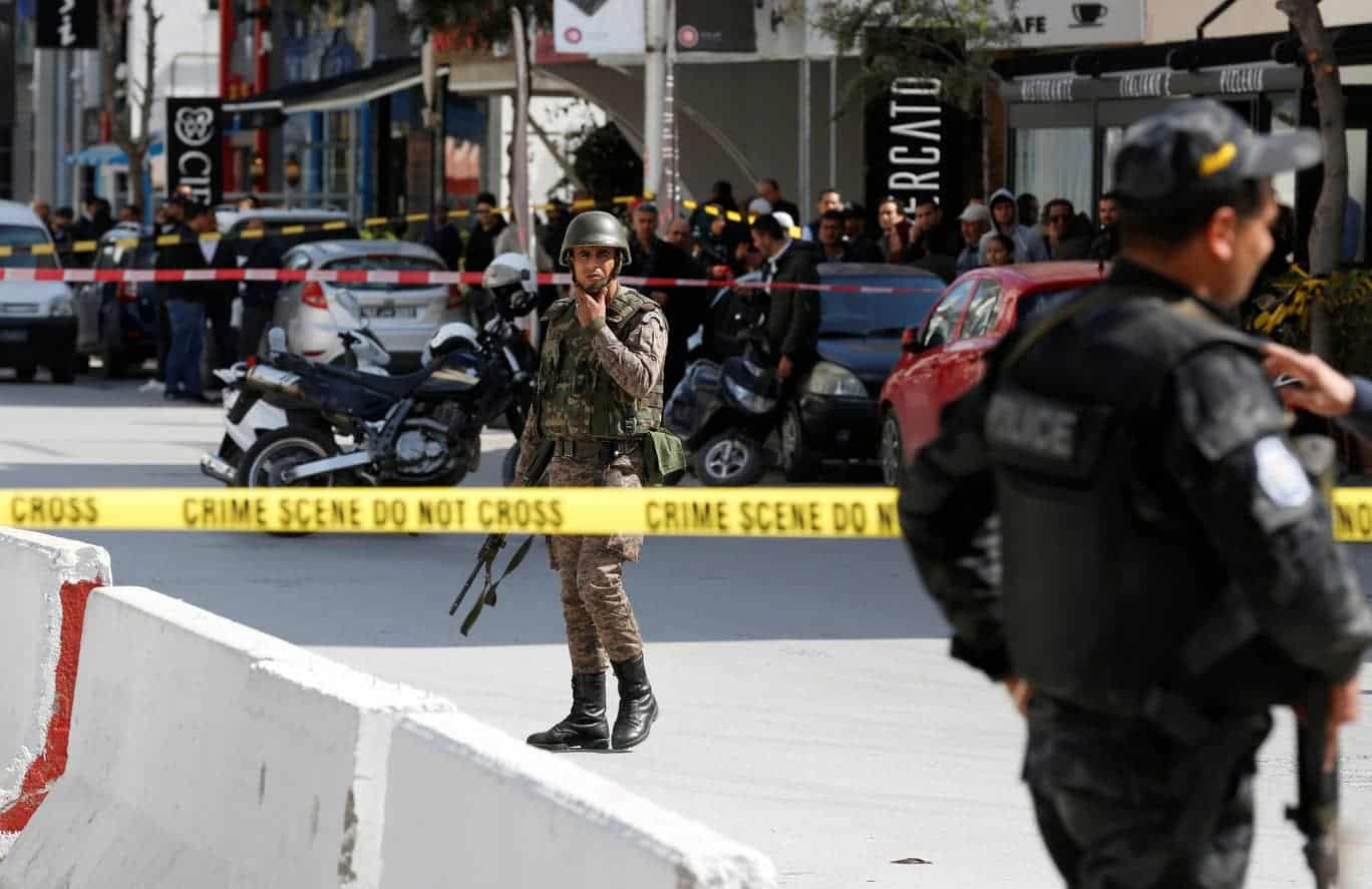 Two Suicide Attackers Blow Themselves Up Near US Embassy in Tunis