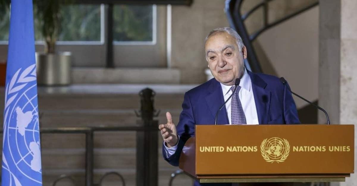 UN's Envoy for Libya Ghassan Salame Resigns, Cites Stress