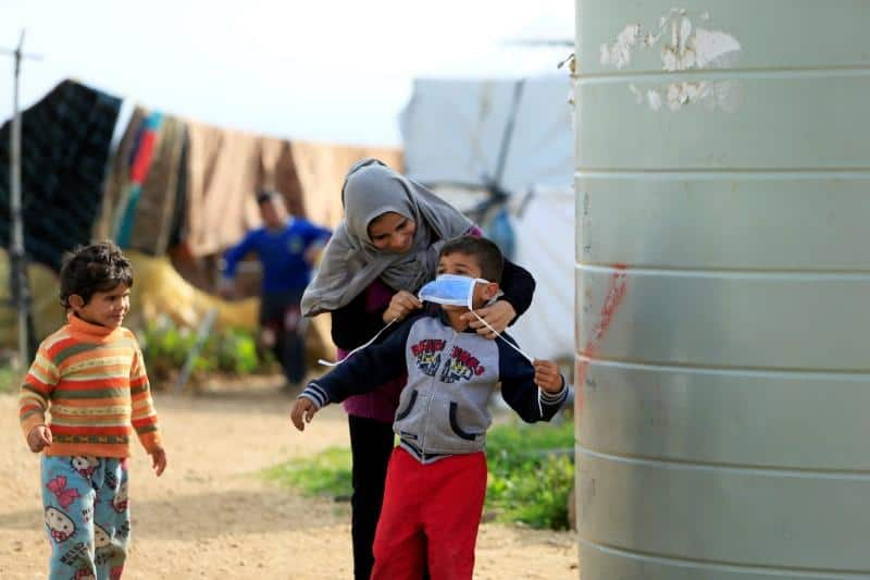 UNHCR Reports No New Cases of Coronavirus Among Refugees in Lebanon