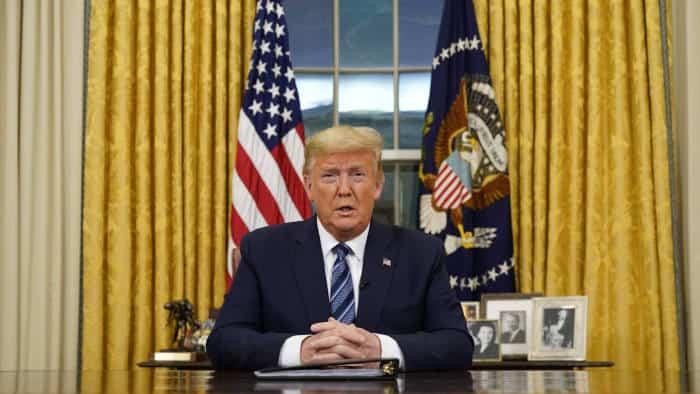 Donald Trump Tries to Calm Investors as Market Panic Ensues