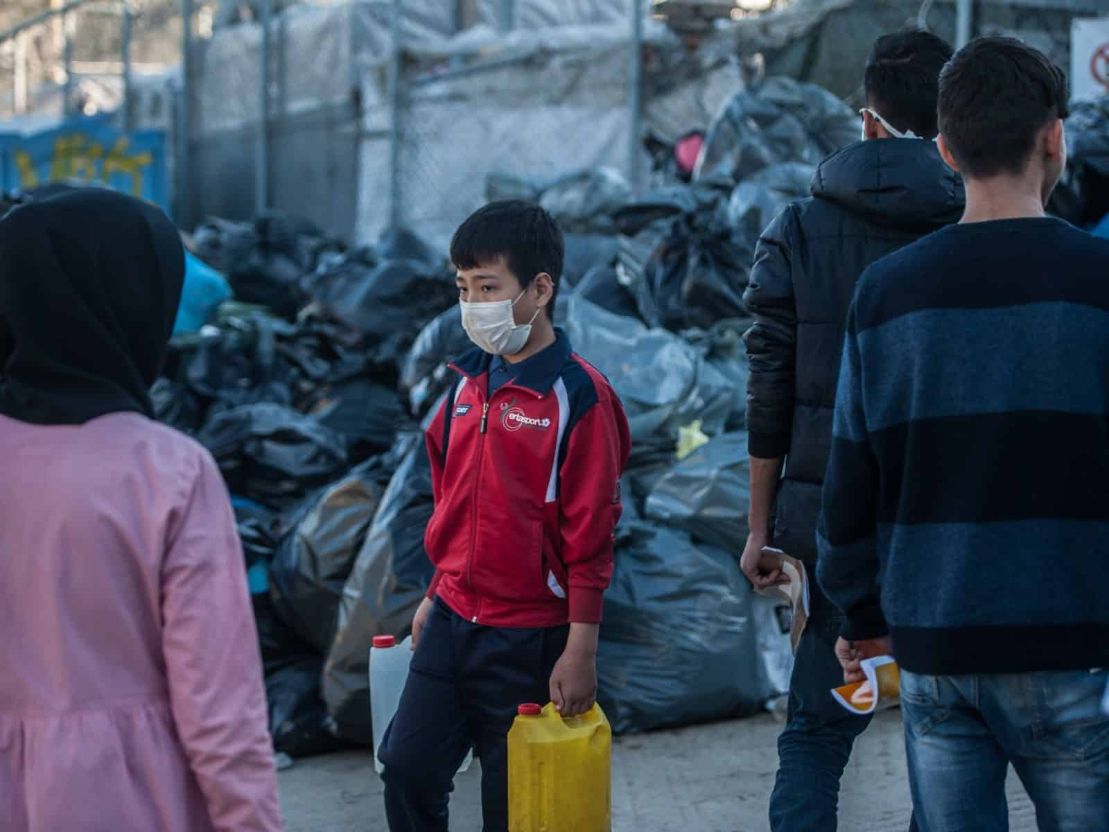 MSF: Overcrowded Migrant Camps in Greece Present COVID-19 Breeding Ground