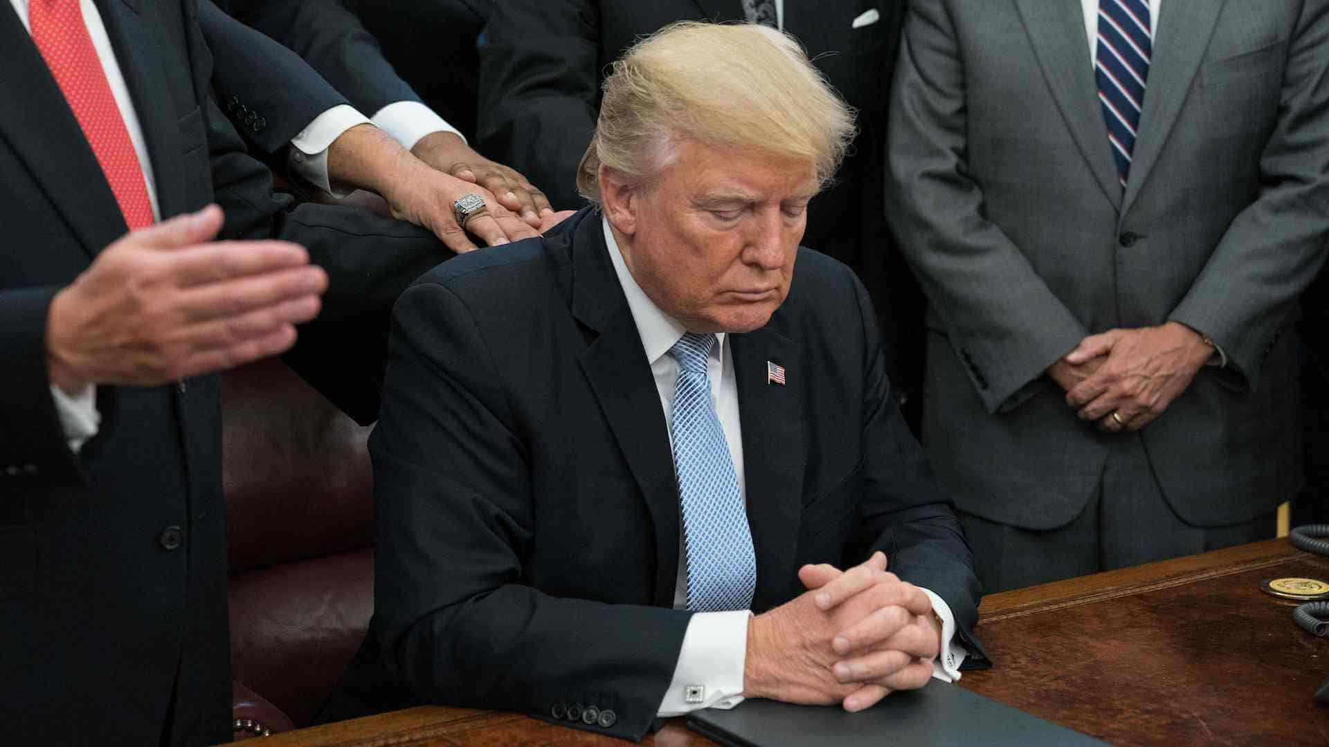 Trump Declares National Day of Prayer in Light of COVID-19 Outbreak