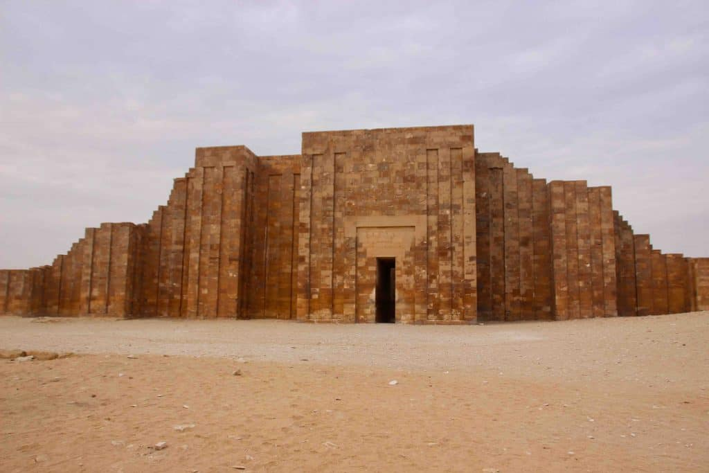 Egypt's 4700-year-old Step Pyramid Reopens to Public