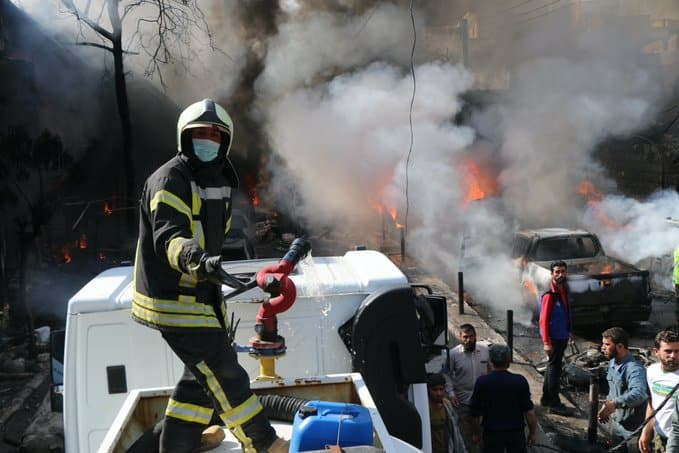 At Least 30 Die After Fuel Tanker Explosion Rips Through Afrin, Syria