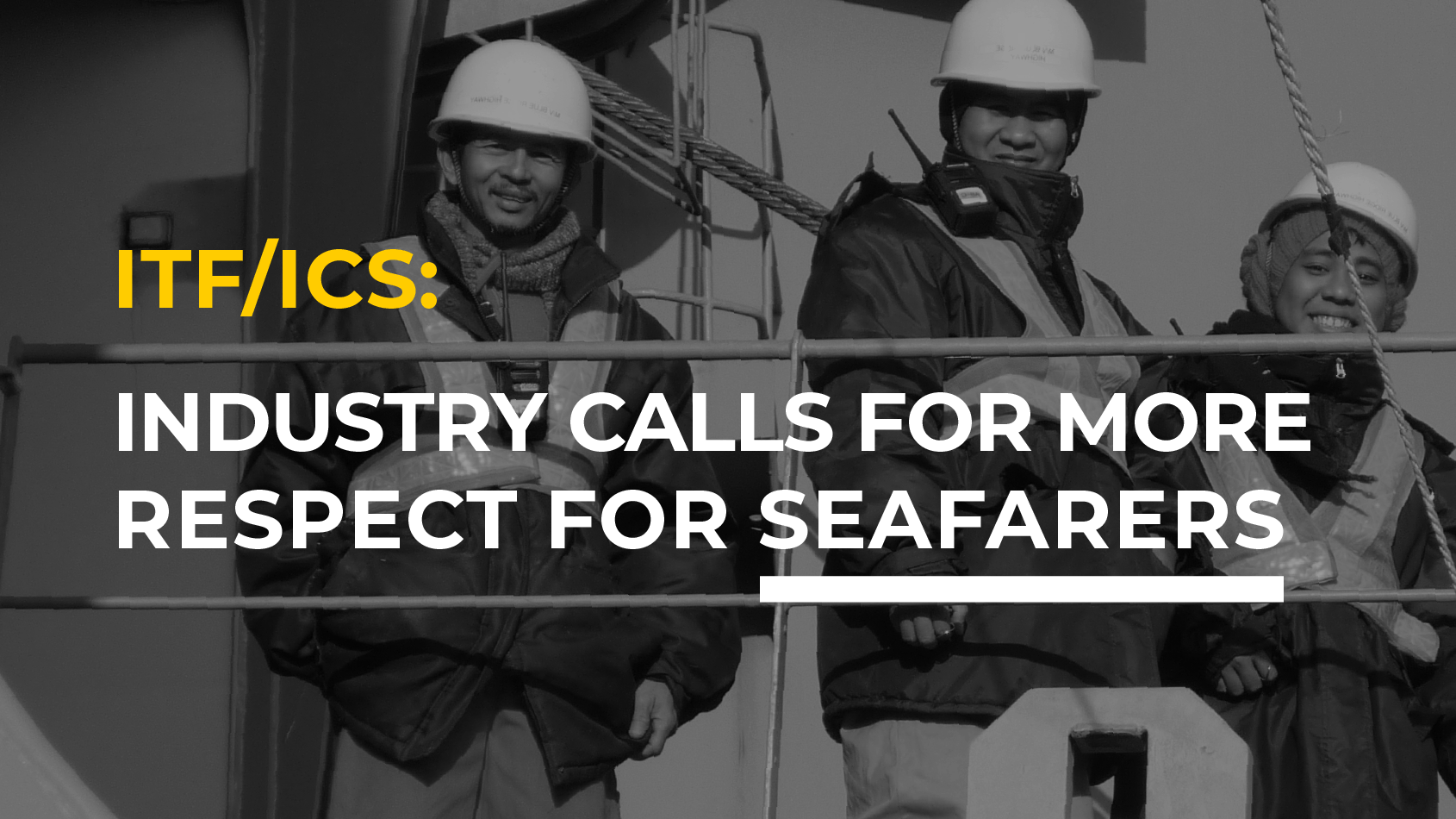 Shipping Industry: Seafarers Key to Keeping Trade Afloat Amid Pandemic