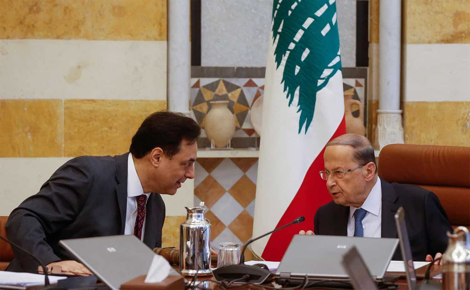 Lebanese President Calls for International Support Against COVID-19