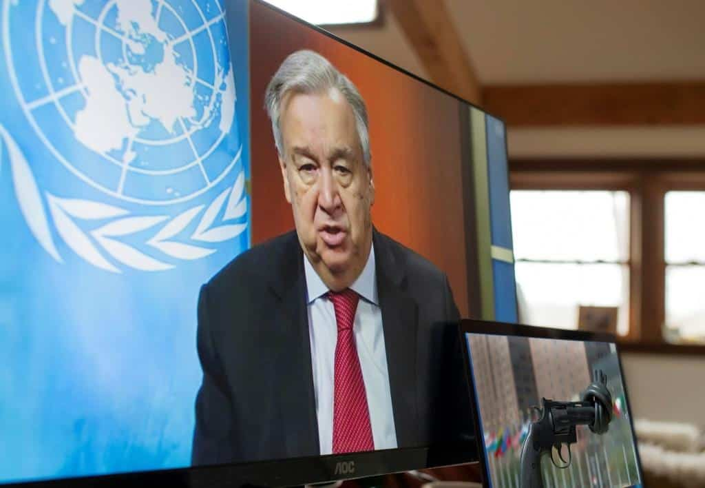 "Guterres Calls for Unity in ""The Fight of a Generation"""