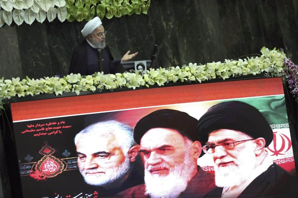Politicians Gather for First Sitting of New Iranian Parliament