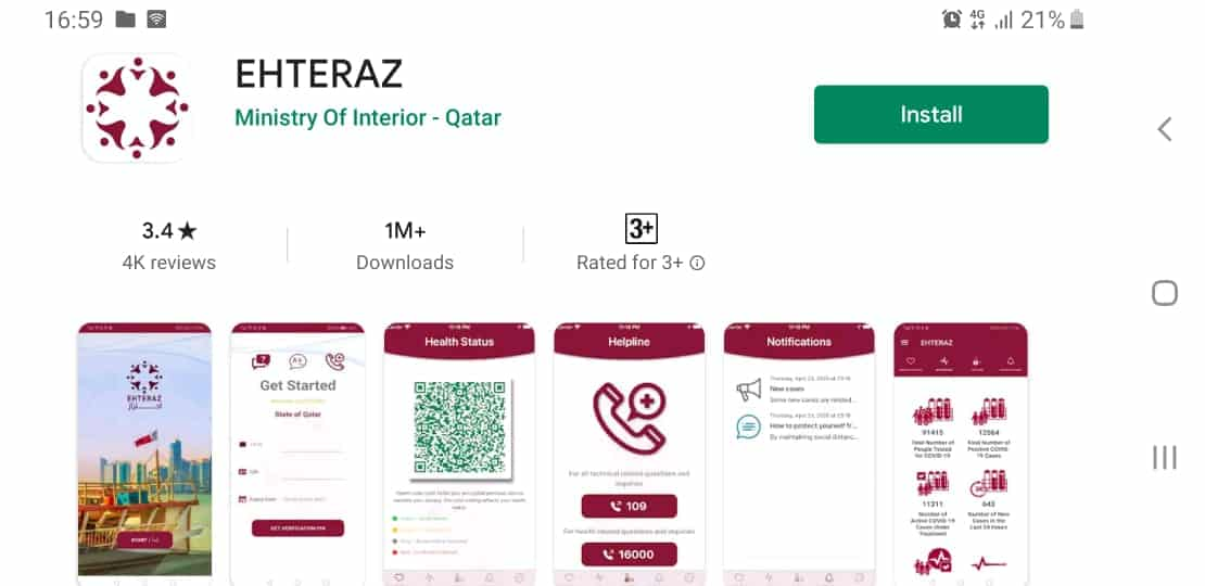 Qatar's New COVID-19 Tracking App Prompts Privacy Backlash