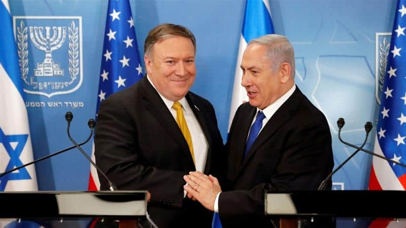 Pompeo Flies to Israel to Discuss Annexation Plans