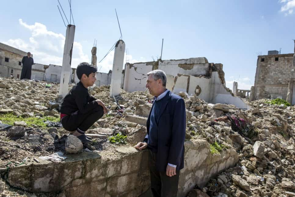 UN Envoy Sees Opportunity for Peace in Syria