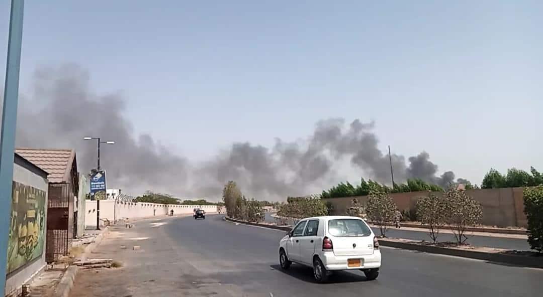 Plane Carrying 107 Crashes in Karachi Neighborhood