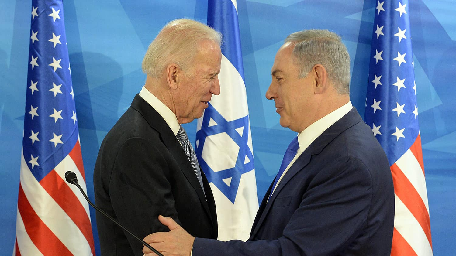 "PLO Envoy: Joe Biden Not ""Capable of Stopping Netanyahu"""