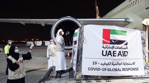 UAE Passes 500 Ton Milestone in COVID-19 Aid Provision