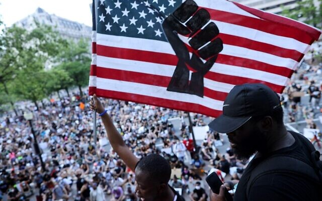 Anti Racism Protests Held In U.s. Cities Nationwide