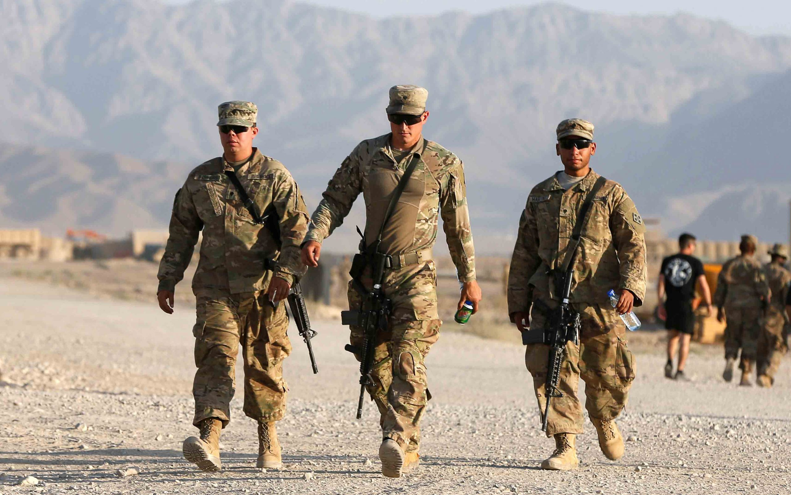 US Reduces Forces in Afghanistan to 8,600