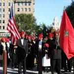 Moorish Temple Society of America march in USA