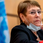 """UN Rights Chief: 'Annexation is Illegal. Period.' Lede: UN High Commissioner for Human Rights Michelle Bachelet has called Israeli annexation plans """"illegal"""" as she warns"""
