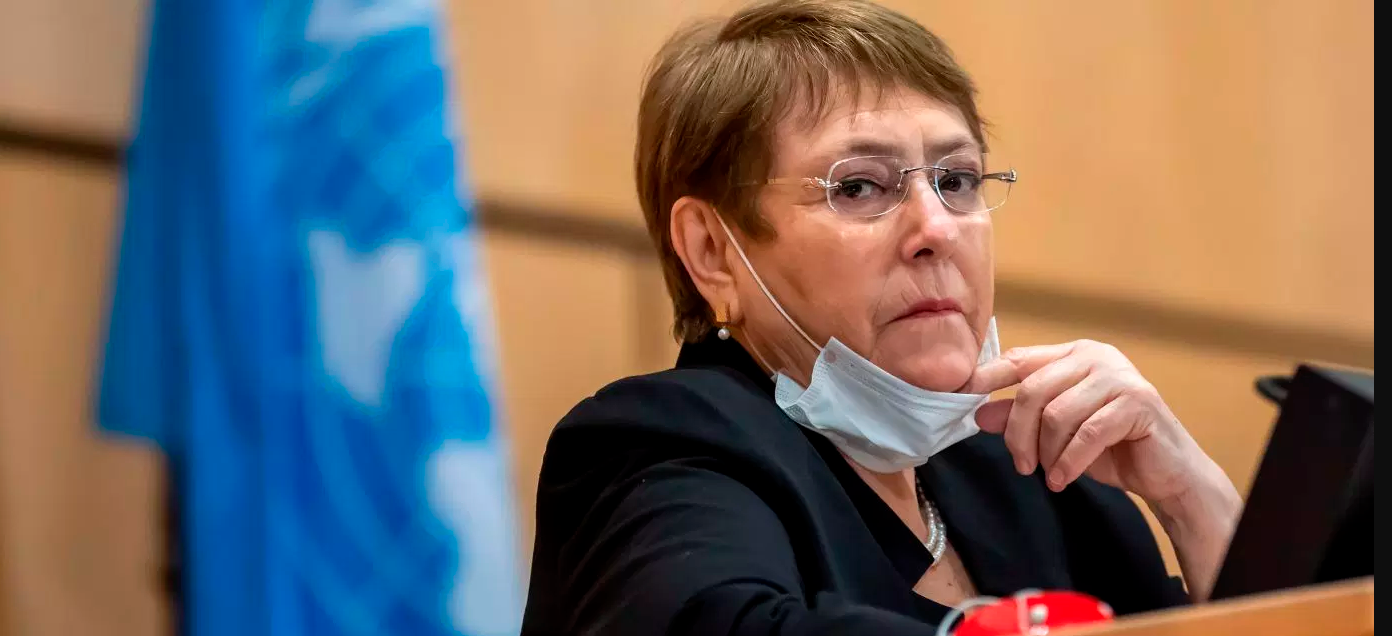 "UN Rights Chief: 'Annexation is Illegal. Period.' Lede: UN High Commissioner for Human Rights Michelle Bachelet has called Israeli annexation plans ""illegal"" as she warns"